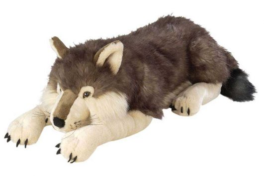 Big Wolf Plush (76cm)-0