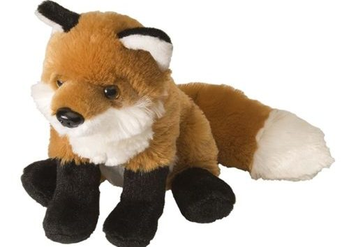 Mini Cuddle Red Fox Plush (20cm)-0