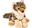 Mini Cuddle Wolf Plush (20cm)-0