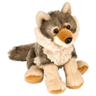 Peluche: Mini Cuddle lobo (20cm)-0