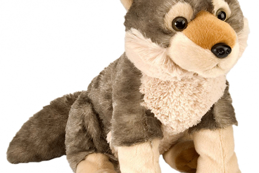 Cuddle Wolf Plush (30cm)-0