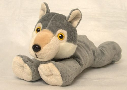 "Peluche Lobo - ""Super Softies"" -0"